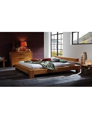 lits en bois lit barreau en ch ne sauvage. Black Bedroom Furniture Sets. Home Design Ideas