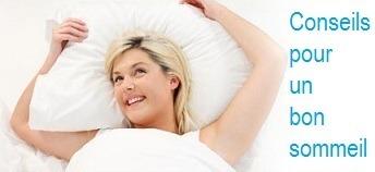 Conseils pour un bon sommeil