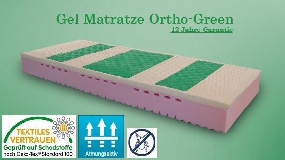 Gel Matratze Ortho-Green