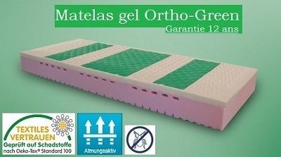 Matelas en gel Ortho-Green